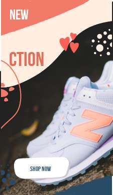 Сторис новая коллекция для обуви с кнопкой купить сейчас
